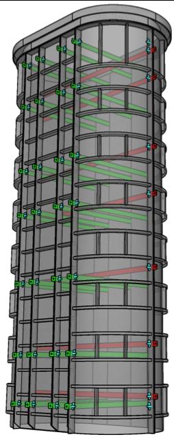 radius end columns